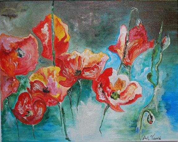 Dernières fleurs d'été. Anne-Lucie Tarrié Altarrié