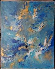 La création » l'esprit planait sur les eaux».