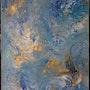 La création » les cieux». Dominique Ivanoff