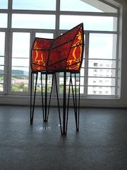 Stained Glass, Vitrail pb. Dominik Pirháč