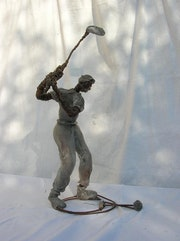 Golf player.
