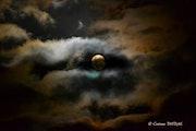 La pleine lune.