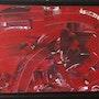 Abstrait Rouge et Noir. Patricia Vivier Robert » Pat V »