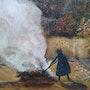 Travaux d'automne. Joelle Rigoulet