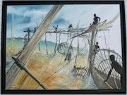 Pêcheurs du Zaïre (toujours dans ma série pêcheurs du monde).