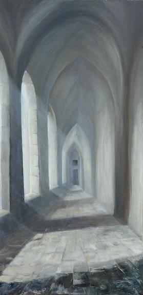 Im Kloster - dans le monastere. Klonowski Peter Peter Klonowski