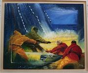 Pêcheurs d'espadons «Tous égaux face à la mer» (série pêcheur du monde).