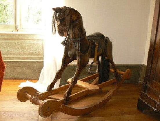 Traditional Rocking Horse. W Mawhinney, The French Design Company The French Design Company
