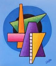 Abstrait geometrique n°10.