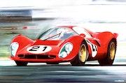 Le Mans - ferrari p4.
