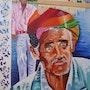 L'inde : Indous père et fils. Marès