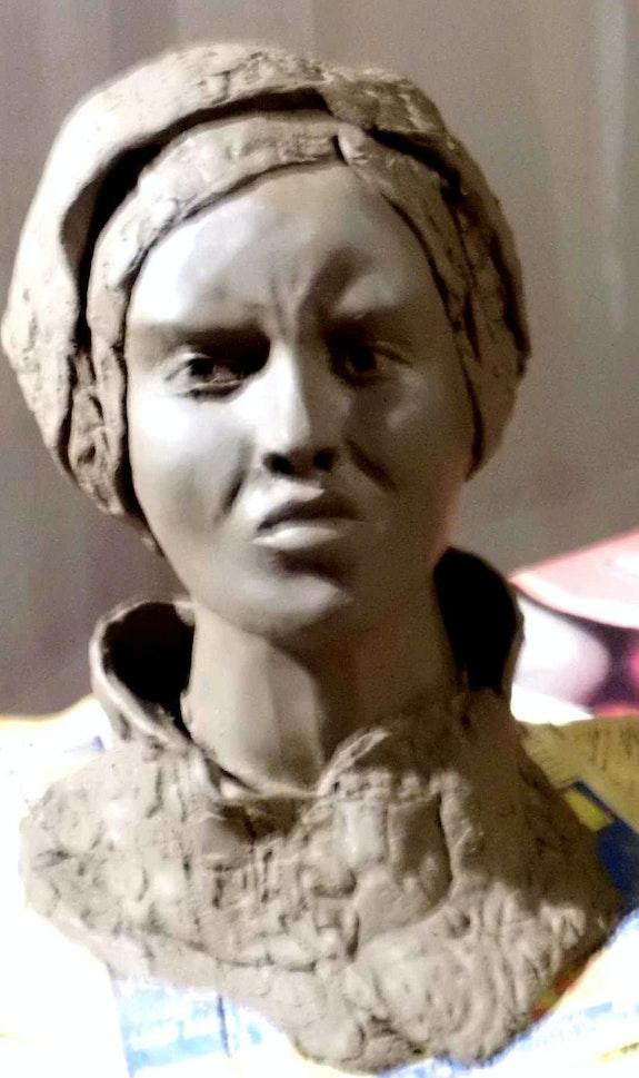 Femme en colère «carmen». Legouic Arlette Arlette Legouic