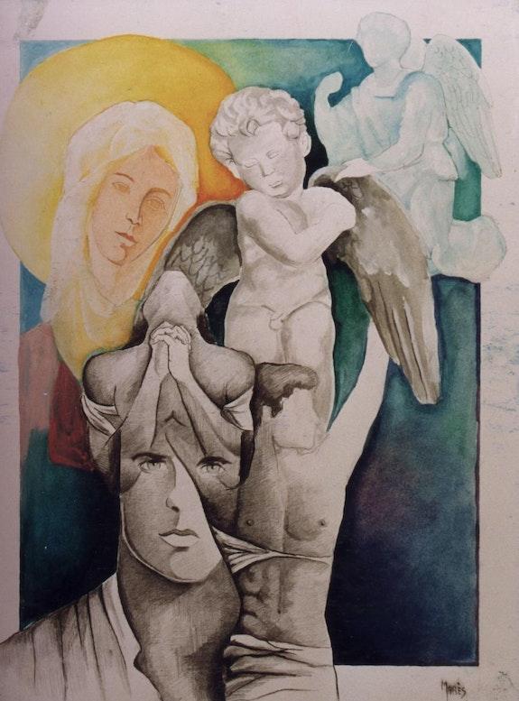 La Vierge et la pensée. Mares Marès