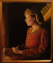 Joss Stone as Anne Of Cleves. Les The Painter