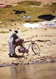 Grosse chaleur à N'Djamena, Tchad.
