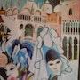 Venise :Palais des Doges. Marès