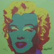 Andy Warhol Marilyn Monroe signed authenticated lithograph II. 25.1287 / 2400.