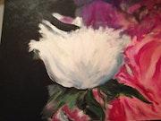 Des fleurs exprimant l'amour.