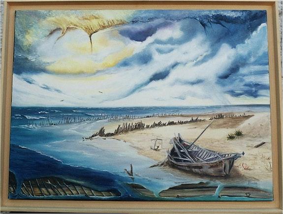 Usure du temps (Gironde). Michèle Soulivet Dit Boden M. Bodens