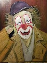 Clown pensif. Claude