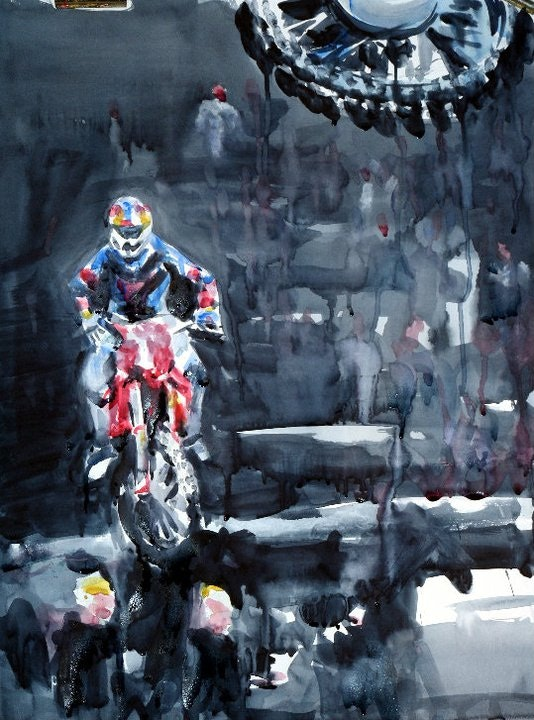 Supercross indoor. Laurent Colsenet Laurent Colsenet