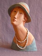 Julie façon Modigliani. Cria