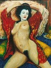 La Geisha. François Mouriès