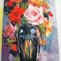 Bouquet de fleurs. Dar El Amen Galerie d'art