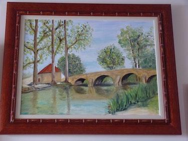 Pont de Ste Marie sur Ouche no 2. Nadine Gartau