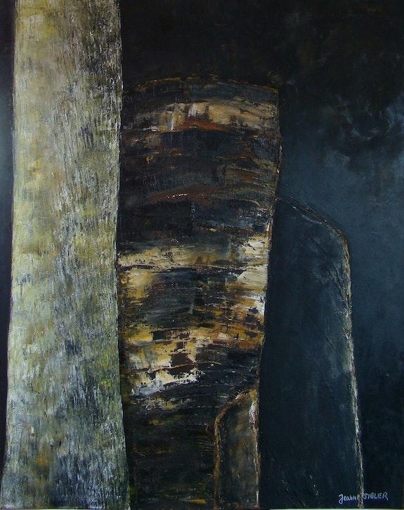 Rochers et troncs 3. Jeanne Sibler Jeanne Sibler