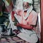 L'homme qui prépare le thé. Baghdadi Kralifa