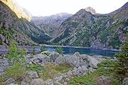 Un Lac de Montagne.