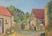 Le village de Barain. Nadine Gartau