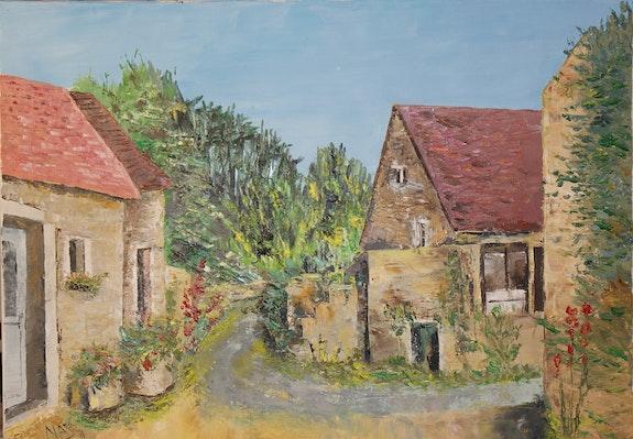 Le village de Barain. Nadine Gartau Nadine Gartau