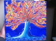 Adossés a l'arbre de la vie.