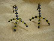 Boucles d'oreilles pagodes.