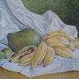 Nature morte aux bananes. Viera Farina
