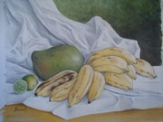 Nature morte aux bananes.
