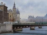 Un hiver à Paris.
