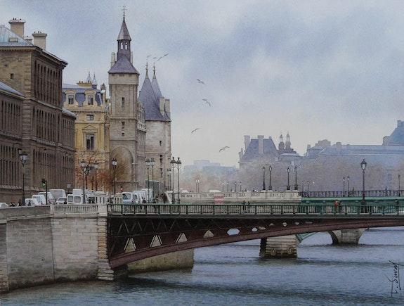 Un hiver à Paris. Thierry Duval Thierry Duval