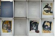 Les Quatre Singes, estampe de Julio Pomar. Nans Torck