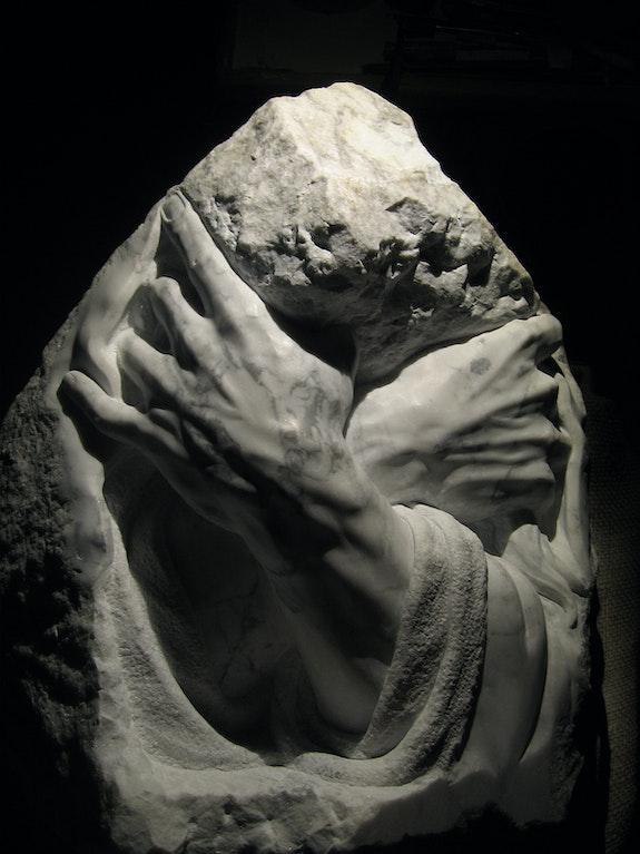 «L'étreinte». Vivant Christophe Chistophe Vivant