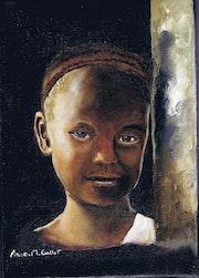 Visage d'afrique.