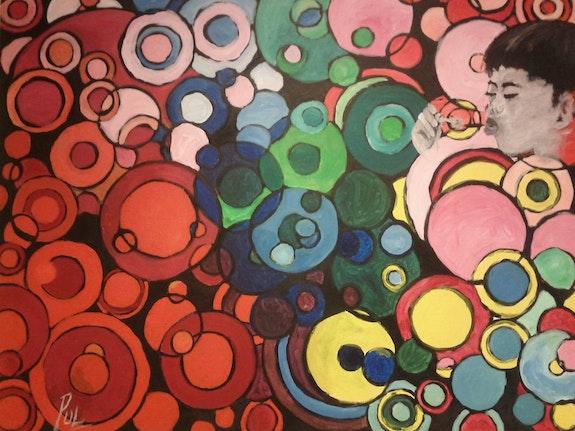 Des bulles en couleurs. Pulchérie Dasse Pul