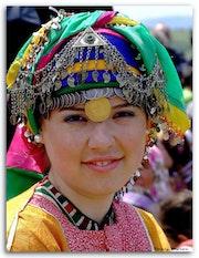 Portreit of Türkmen Girl..