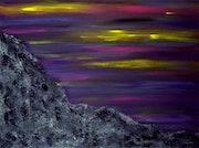 Nuit d'orage sur les rocheuses.