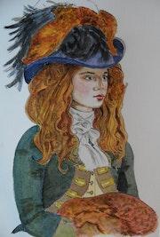 Demoiselle 18ème siècle # 2.