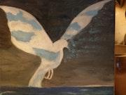 L'oiseau de paix.