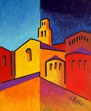 St Andre et son eglise n° 1.