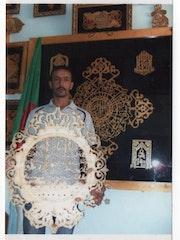 Les gran tablaux sculpter et vider et calligraphie de fouad ghali et de gran mag. Fouad Ghali